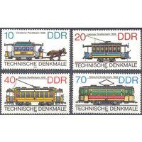 Германия ГДР трамвай конка транспорт