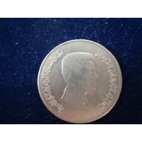 Монета 5 пиастр, Иордания, 1990 г.