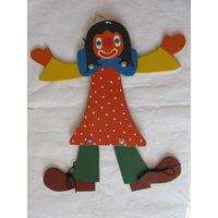 """Кукла - марионетка """"Клоун""""(Англия)"""