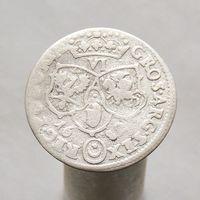 6 грошей 1682 Ян III Собеский