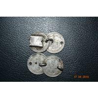 Часть серебряного браслета