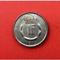 60-12 Люксембург, 1 франк 1979 г.