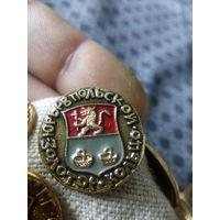Значок СССР. Золотое кольцо. Юрьевскпольской.