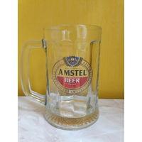 Пивной бокал (кружка) Amstel beer