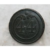 ВА , , Франция   по 1812 году  , малая ,номер 44   пуговица ,