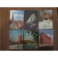 Почтовые открытки.1963г.В.Упитис.Рига.