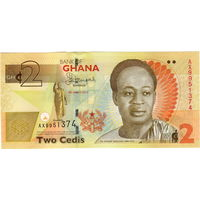Гана, 2 седи, 2013 г., UNC