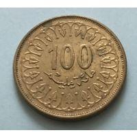 Тунис 100 миллимов 1997 г.