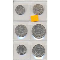 Болгария комплект монет (6 шт.) 1925-1940 гг. скидки.