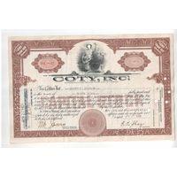 Прошлый век!!!   Акция на 37 долларов от 27 ноября 1929 года, штат Делавэр