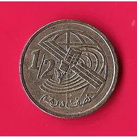 42-41 Марокко, 1/2 дирхама 2002 г.