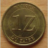 ЗАИР-1заири1987г.       KM# 13
