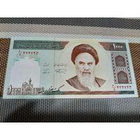 Иран 1 000 риалов