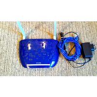"Беспроводной DSL-маршрутизатор ""TP-Link TD-W8960N"", (без упаковки, б/у)."