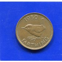 Великобритания 1 фартинг 1950, Georg VI. Лот 1