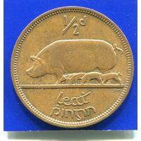 Ирландия 1/2 пенни 1966