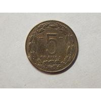 Камерун 5 франков 1958г.