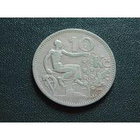 Чехословакия. 10 крон 1932 года.