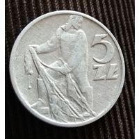 5 злотых 1959 Польша