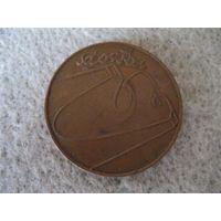 Настольная памятная медаль в честь 30-й годовщины Познанского июня, антисоветского восстания в Польше, в городе Познань 28 июня 1956 года.