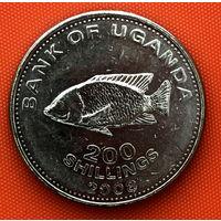 109-15 Уганда, 200 шиллингов  2008 г.