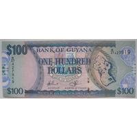 Гайана 100 долларов 2016 г. (d)