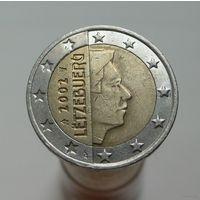 2 евро 2002 Люксембург