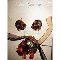 J.Fashion серьги и кулон