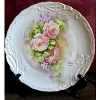 Винтажная декоративная тарелка Limoges Франция