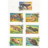 Мадагаскар 1994. Дикие животные. Полная серия