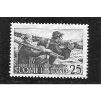 Финляндия. Альберт Эдельфельт, финский живописец. Рыбаки с дальних островов