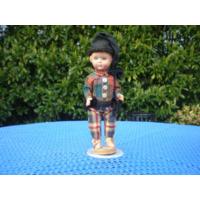 Кукла в национальном костюме.  Португалия . 20 см.