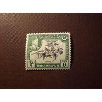 Британская Индия 1949 г.Княжество Бахавалпур.Эмир Бахавалпур.Хлопок.