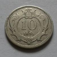 10 геллеров, Австро-Венгрия 1894 г.