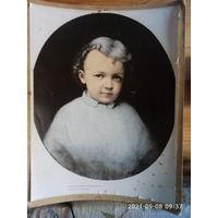 Большой портрет - репродукция картины И.К. Пархоменко Володя Ульянов.