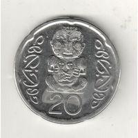 Новая Зеландия 20 цент 2006