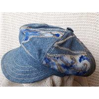 Кепка джинсовая винтаж