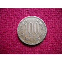 Чили 100 песо 1994 г.