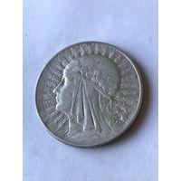 10 злотых 1932  - c  1 рубля
