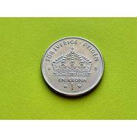 Швеция. 1 крона 2002.