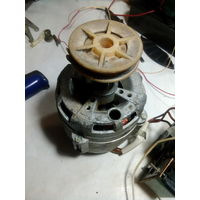 Электродвигатель 220в 180вт в сборе с пусковым конденсатором и рт.САМОВЫВОЗ.