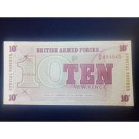 Великобритания 10 пенсов Вооруженных сил
