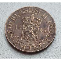 Голландская Ост-Индия 2,5 цента, 1945 7-3-8