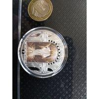Продам подарочную монету Иисуса Христа , из коллекции