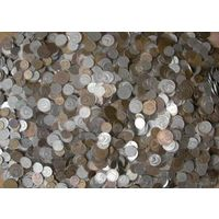 Большая куча монет!!!ОКОЛО 10 кг.!!!Монеты СССР