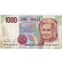 Италия, 1 000 лир, 1990 г.