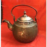 Медный чайник 19 век отличное состояние