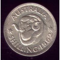 1 шиллинг 1962 год Австралия