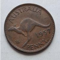Австралия 1 пенни, 1957 3-13-13