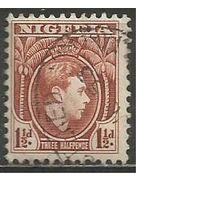 Нигерия. Король Георг VI. 1938г. Mi#49.